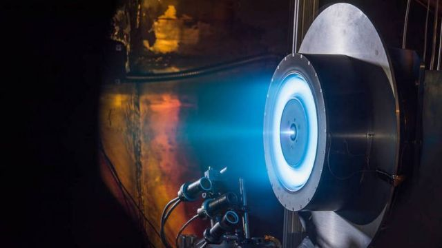 Latest Tests of brilliant Ion Propulsion System