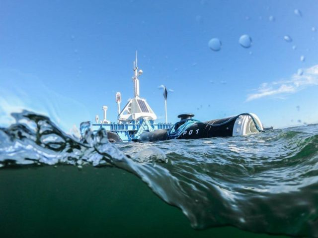 Ocean Cleanup system ready for tests (1)