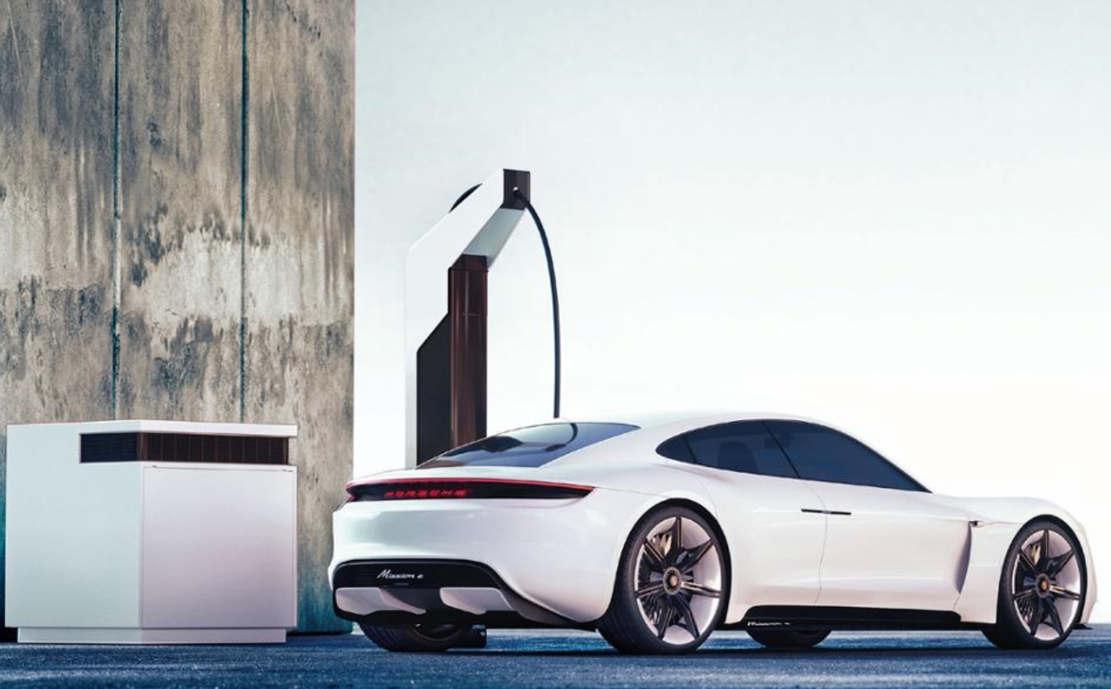 Porsche unveils fast, low-cost 'Electric Pit Stop'