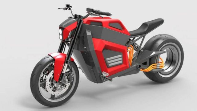 RMK E2 quick electric motorcycle