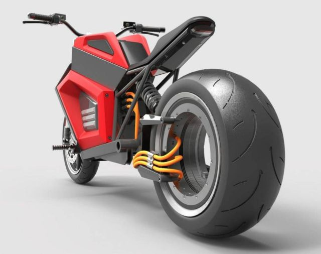 RMK E2 quick electric motorcycle (3)