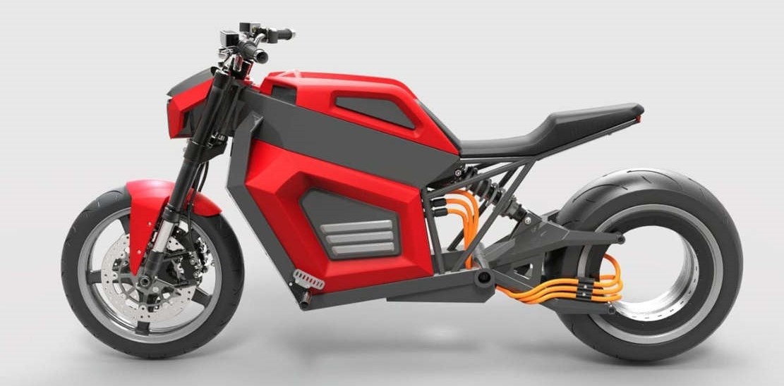 RMK E2 quick electric motorcycle (1)