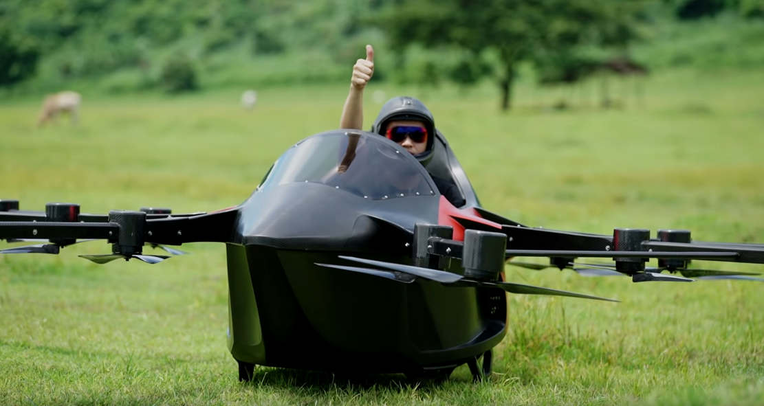 Smallest Flying Sports car