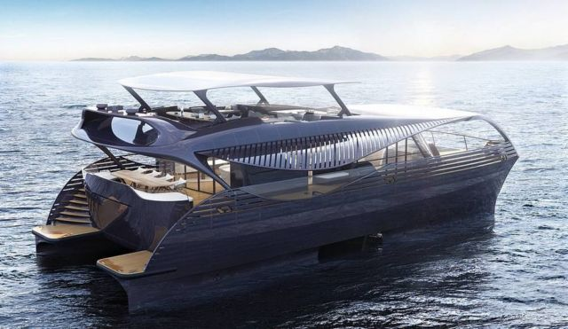 Solarimpact first ocean-going Solar Yacht