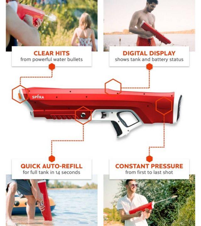 Spyra One high-tech water gun (2)