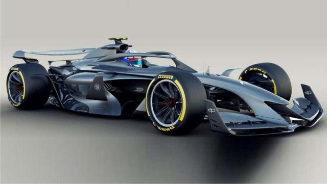 The future of Formula 1 designs