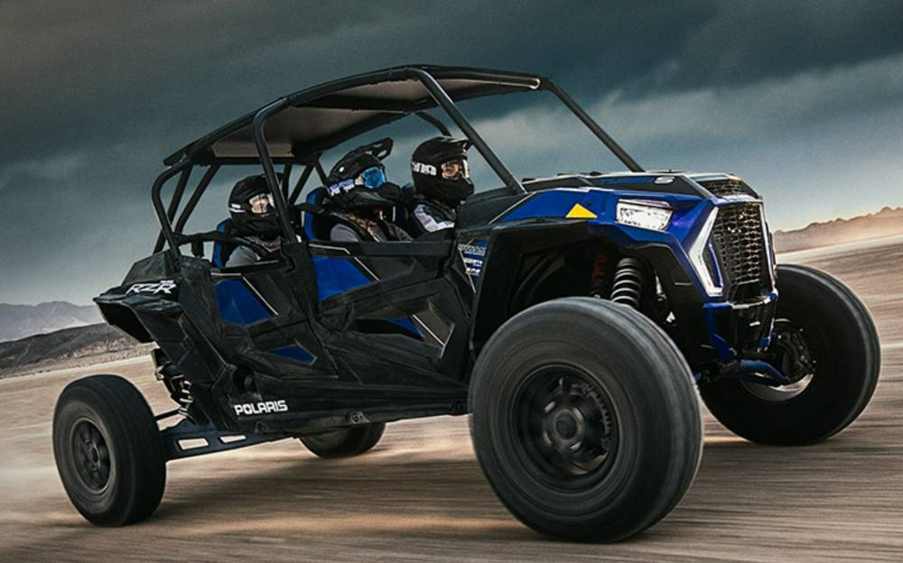 The new RZR XP 4 Seat Turbo S