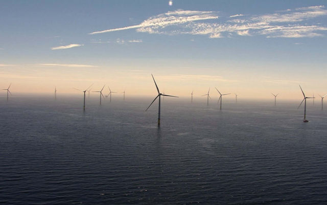 The world's largest Offshore Wind Farm just opens