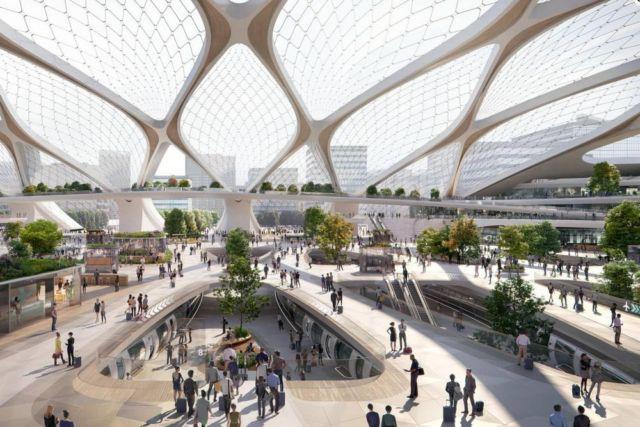 UNStudio unveils Hyperloop 'Stations of the Future'