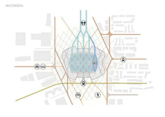 UNStudio unveils Hyperloop 'Stations of the Future' (2)