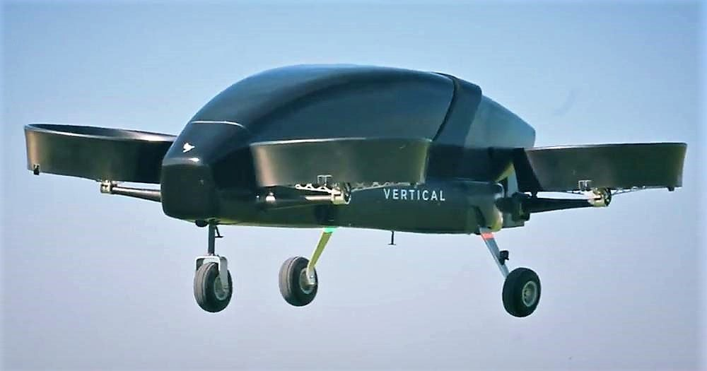 Vertical Aerospace- Full scale Flying Taxi