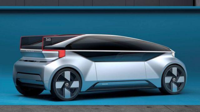 Volvo 360c Self Driving Car Concept