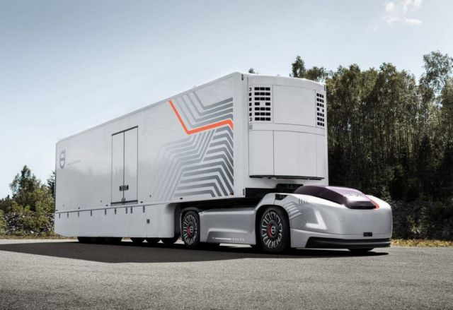 Volvo Self-Driving Electric Truck