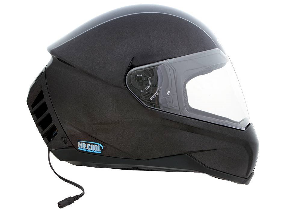 World's Air-Conditioned motorcycle Helmet