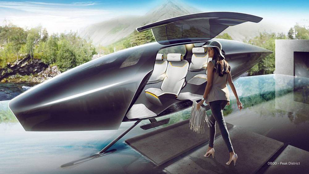 Bentley in 2050 designed from Students