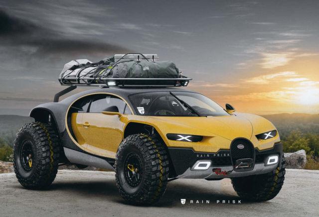 Bugatti Chiron 4×4 SUV concept