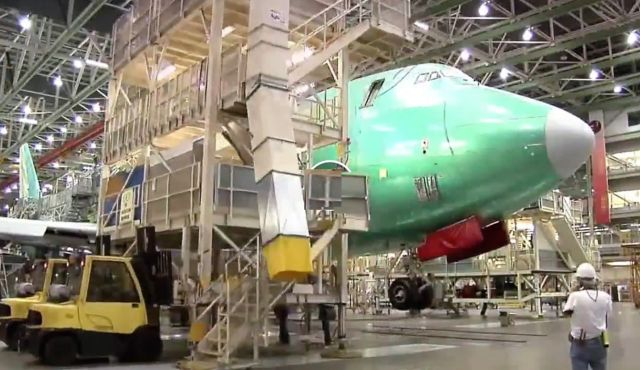 How it´s Made Boeing 747-8