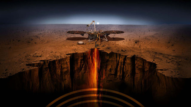 InSight Lander will study the deep interior of Mars