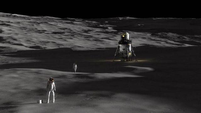 Lockheed Martin unveiled New Human Lunar Lander Concept (4)