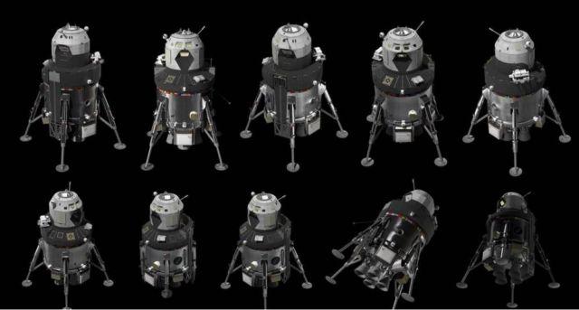 Lockheed Martin unveiled New Human Lunar Lander Concept (2)