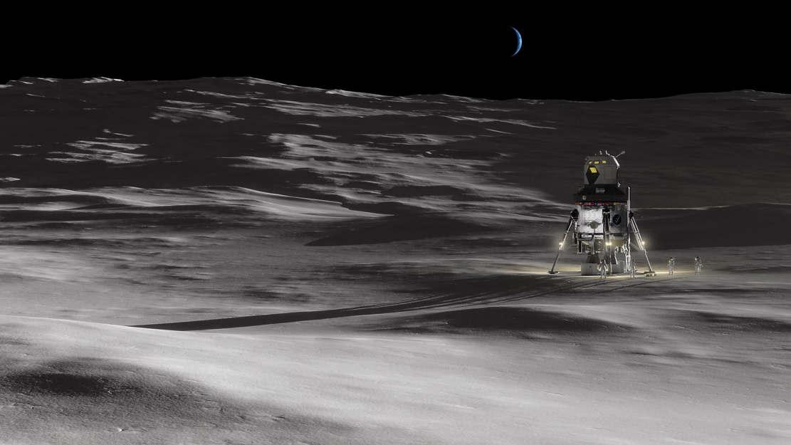 Lockheed Martin unveiled New Human Lunar Lander Concept (1)