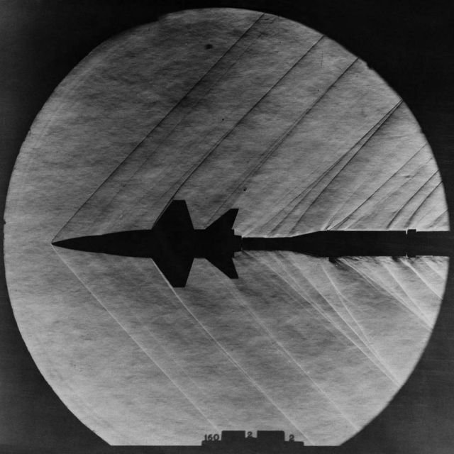 X-15 in Langley's 4 x 4 Supersonic Pressure Tunnel