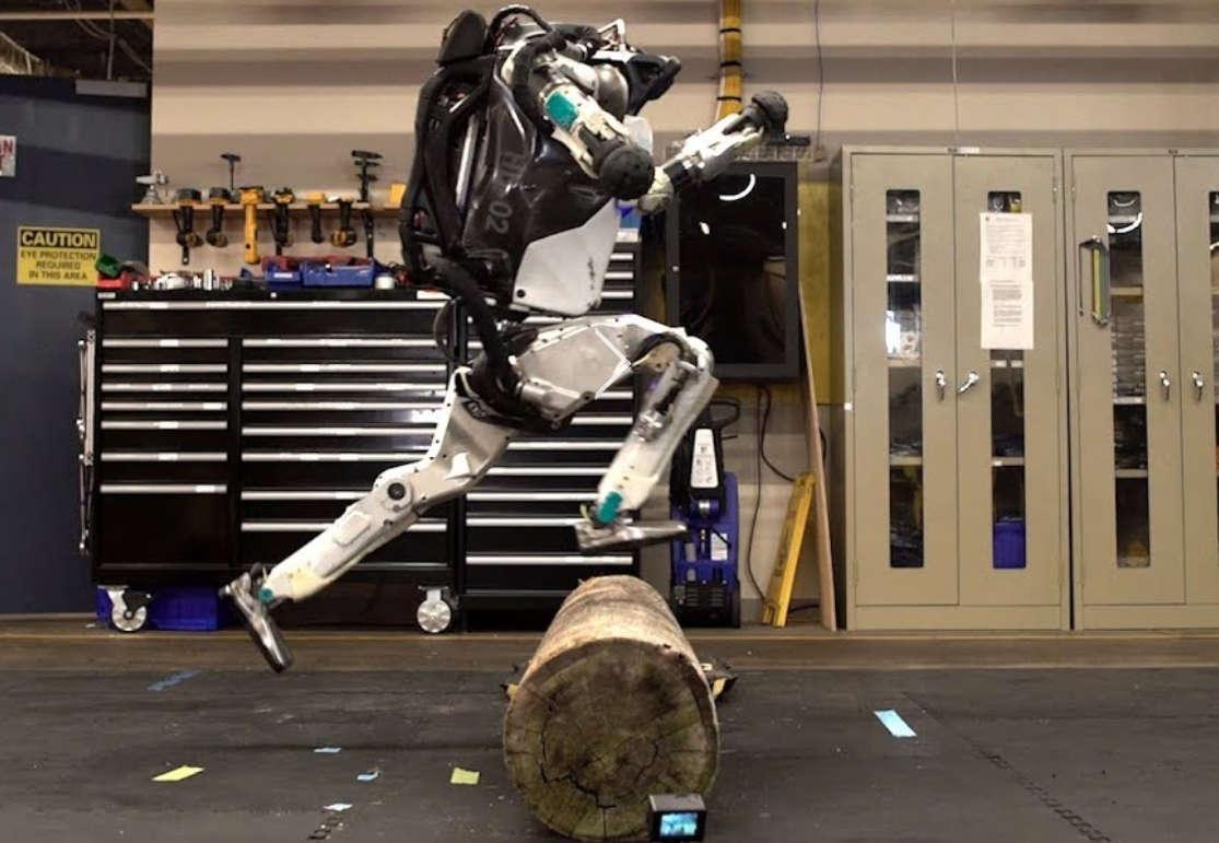 Parkour Atlas robot