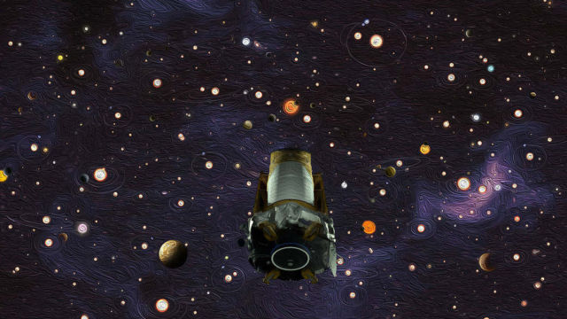 Planet-hunting Kepler Space Telescope