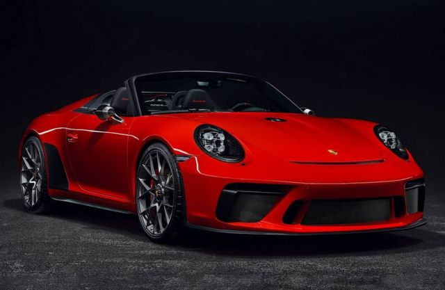 Porsche 911 Speedster in limited production