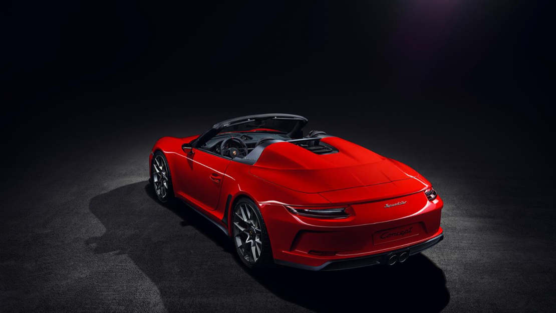 Porsche 911 Speedster in limited production (1)