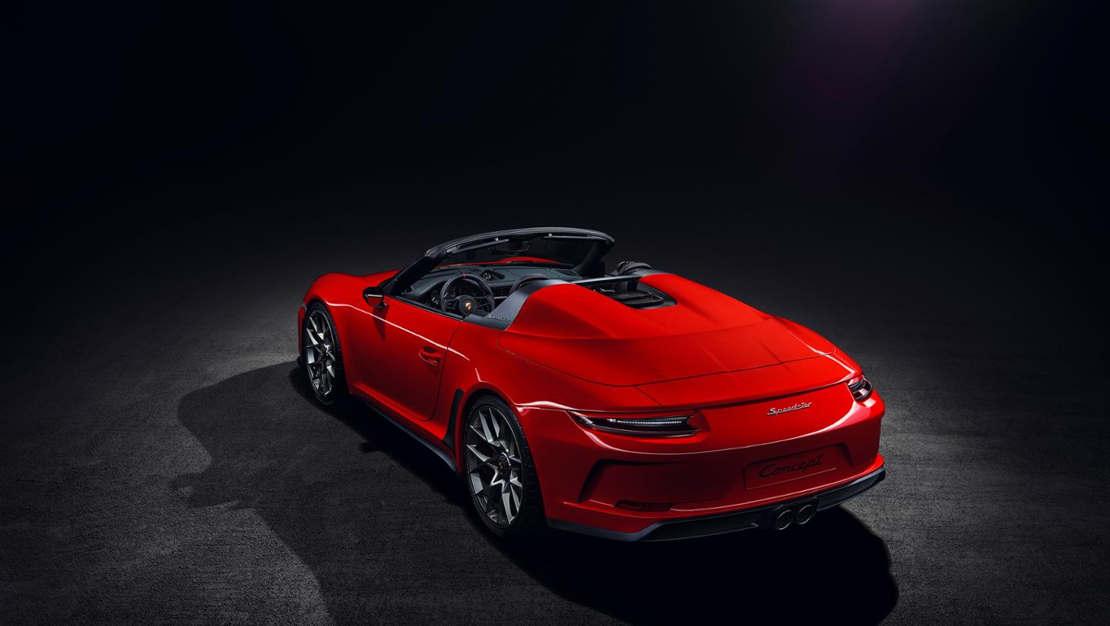 Porsche 911 Speedster in limited production (1)