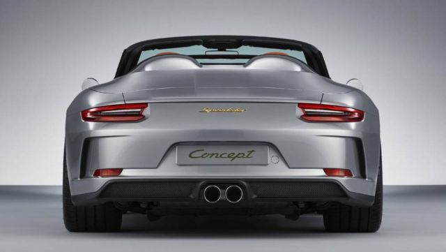 Porsche 911 Speedster in limited production (5)