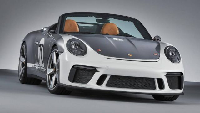 Porsche 911 Speedster in limited production (4)