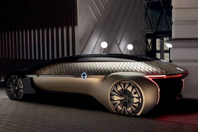 Renault's EZ-Ultimo Self-driving Luxury concept