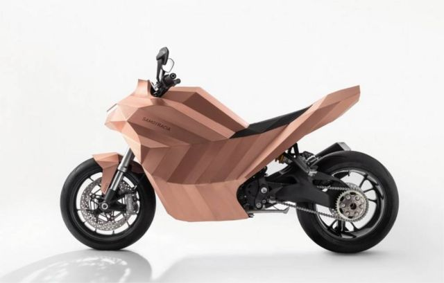 Samotracia Copper Motorbike
