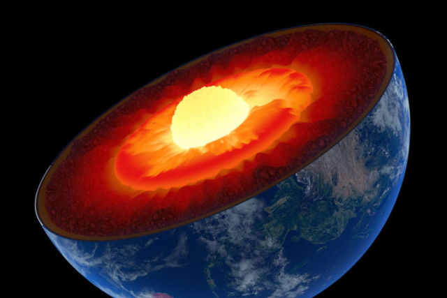 Earth's Inner Core is solid