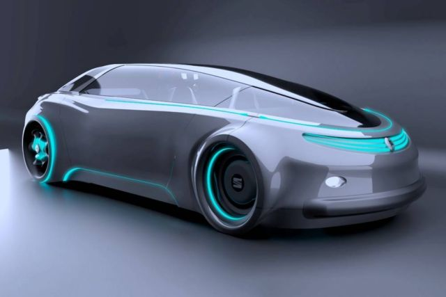 Seat Meet Self-driving car concept