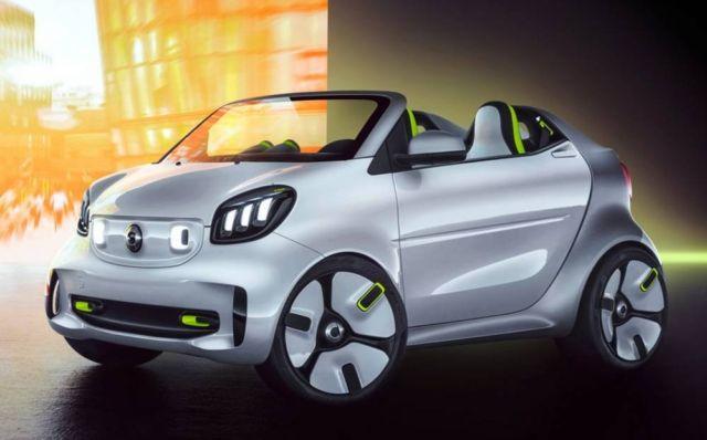 Smart Forease urban EV concept