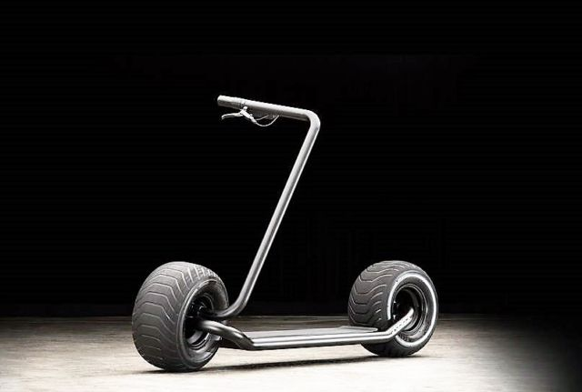 Stator Self-Balancing Electric Scooter