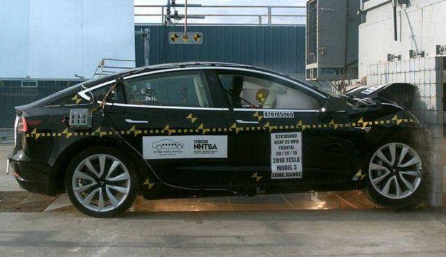 Tesla Model 3 is the Safest car