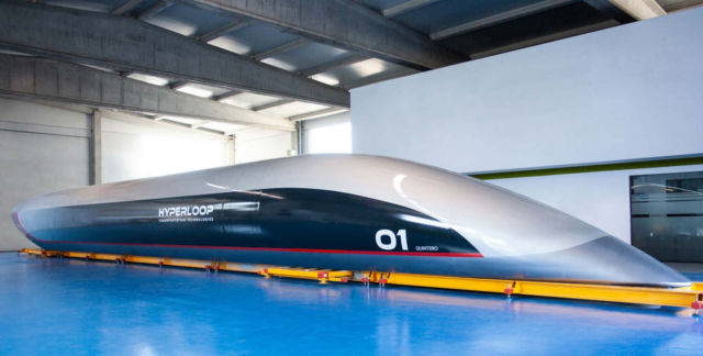 This Hyperloop capsule will carry passengers next year