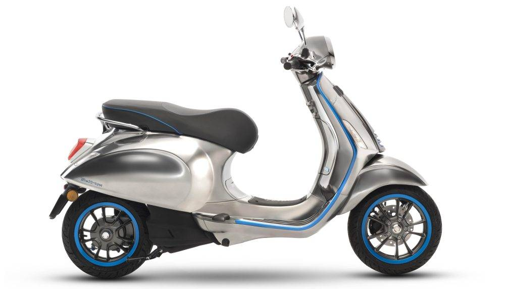 Vespa Elettrica Scooter begins sales