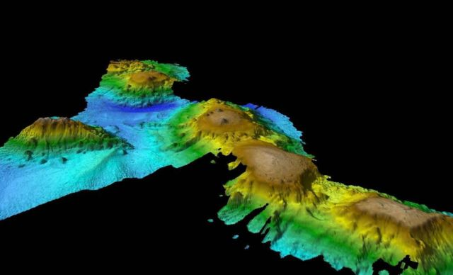 Volcanic 'Lost World'- Haven for Marine Life discovered