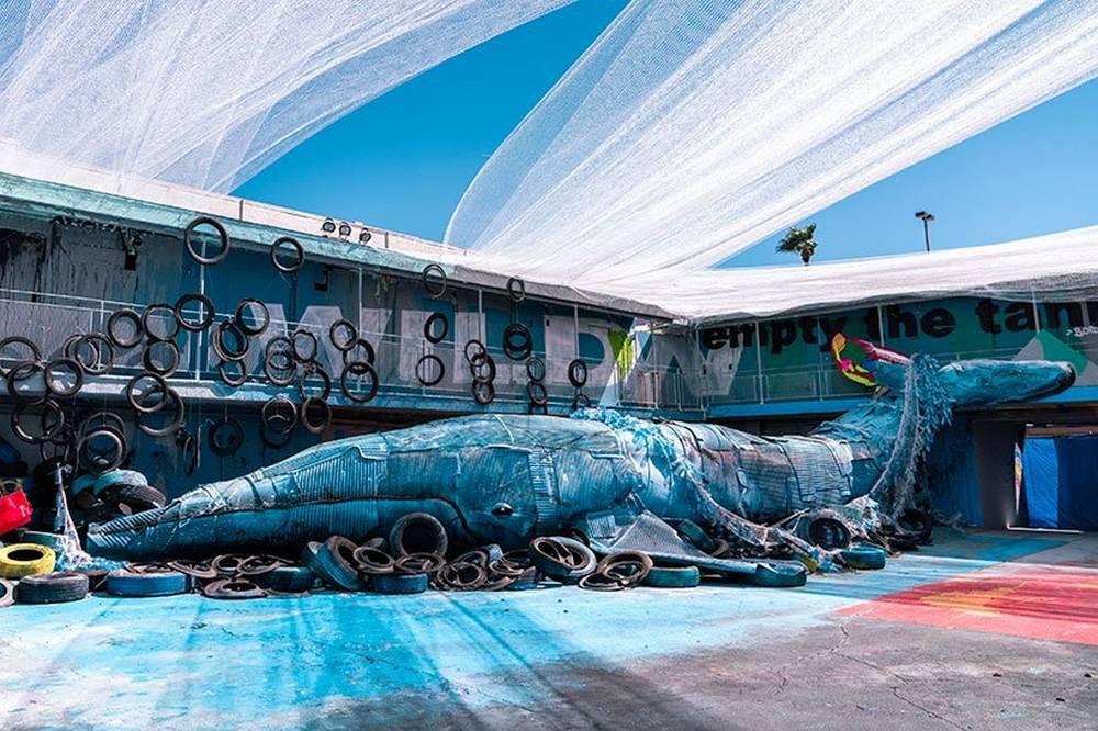 Wild Wild Waste installation