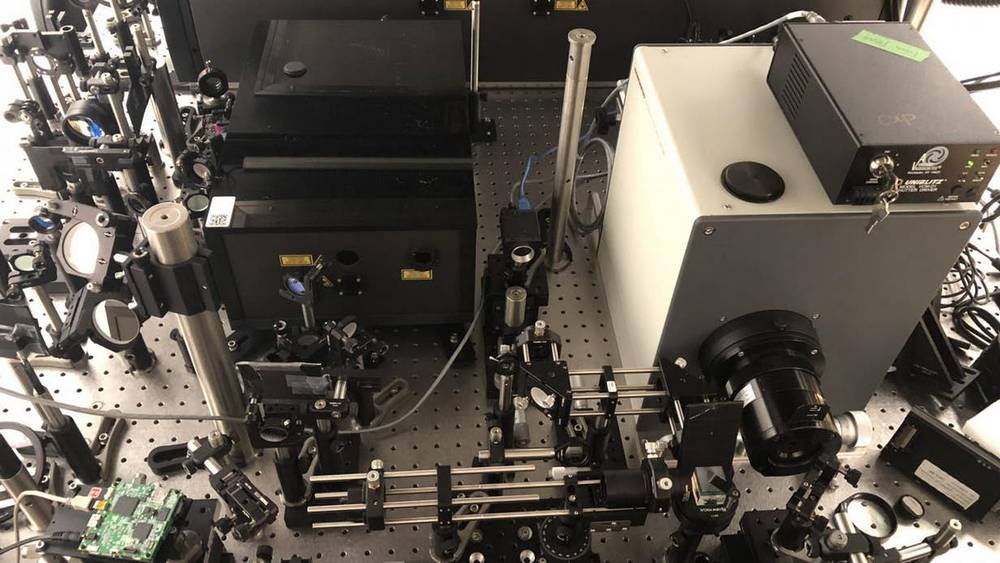 World's fastest camera obtains 10 trillion frames a second