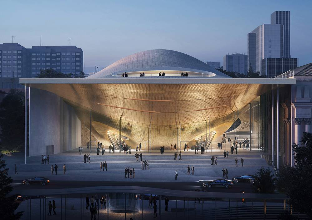 Zaha Hadid Architects to build Sverdlovsk Philharmonic Concert Hall in Russia