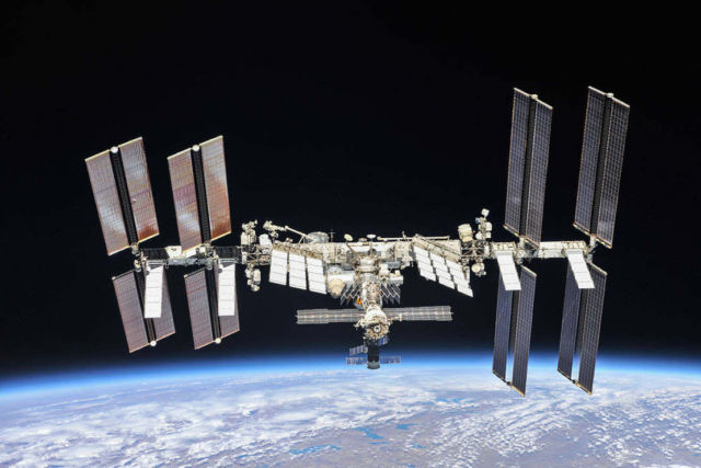 The 20 Year old International Space Station