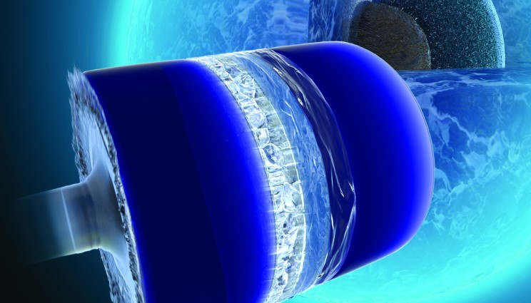 A bizarre Form of Ice Grows at 1,000 mph
