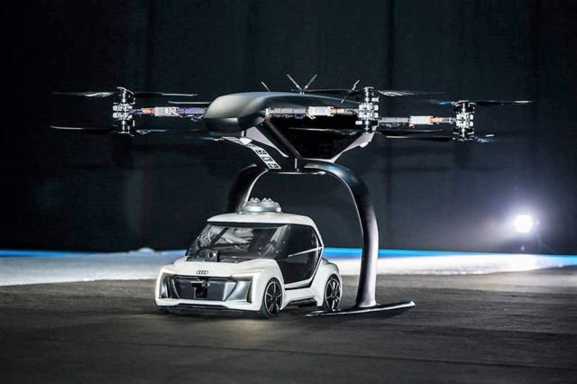 AUDI Flying Car prototype