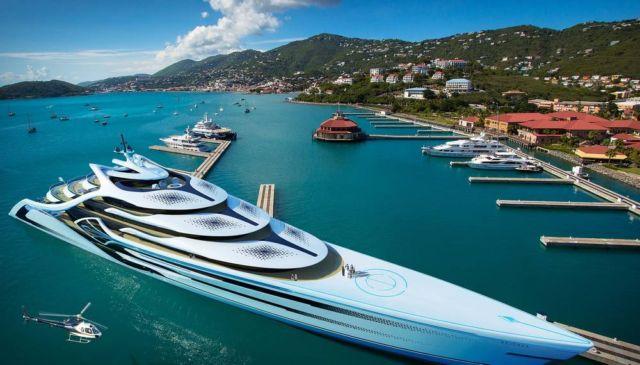Acionna 175m Superyacht concept (5)